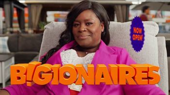 Big Lots TV Spot, 'B!gionaires: Grand Opening' Featuring Retta