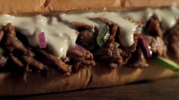Subway Steak and Cheese TV Spot, 'Covered Up the Footlong'