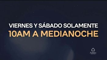 Ashley HomeStore La Locura de Medianoche TV Spot, '0% interés' [Spanish] - Thumbnail 4