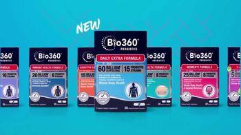 Bio360 Probiotics TV Spot, 'Beyond Digestive Health Support'