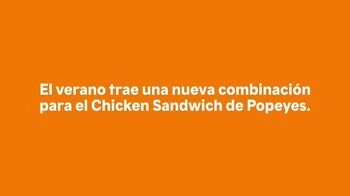 Popeyes Frozen Strawberry Lemonade TV Spot, 'La combinación perfecta' [Spanish] - Thumbnail 1