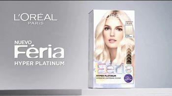 L'Oreal Paris Feria Hyper Platinum TV Spot, 'Eleva tu rubio' [Spanish] - Thumbnail 1