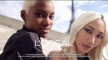 L'Oreal Paris Feria Hyper Platinum TV Spot, 'Eleva tu rubio' [Spanish] - Thumbnail 2