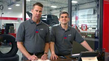 Tire Kingdom TV Spot, 'Two Advisors: Buy Two, Get Two Free Plus $100 Rebate' - Thumbnail 1