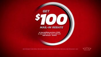 Tire Kingdom TV Spot, 'Two Advisors: Buy Two, Get Two Free Plus $100 Rebate' - Thumbnail 7