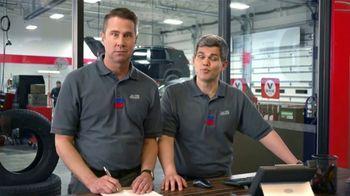 Tire Kingdom TV Spot, 'Two Advisors: Buy Two, Get Two Free Plus $100 Rebate' - Thumbnail 3