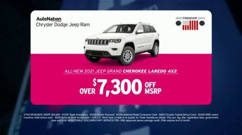 AutoNation Fast Start Sales Event TV Spot, '2021 Jeep Grand Cherokee Laredo' Featuring Alexander Rossi - Thumbnail 4