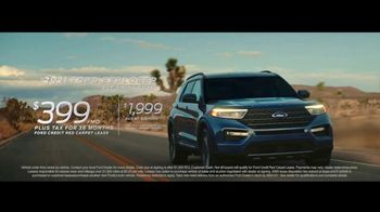 Ford TV Spot, 'The Future Comes Standard: Escape and Explorer' [T2] - Thumbnail 7