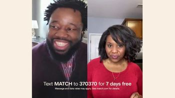 Match.com TV Spot, 'What Are You Looking For?: Seven Days Free' - Thumbnail 5