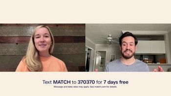 Match.com TV Spot, 'What Are You Looking For?: Seven Days Free' - Thumbnail 8