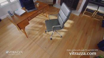 Vitrazza TV Spot, 'Glass Office Chair Mats: Save 10 Percent: 18 Sizes' - Thumbnail 8