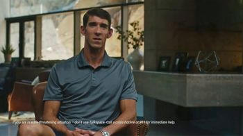 Talkspace TV Spot, 'Easy' Featuring Michael Phelps