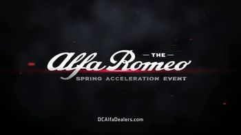 Alfa Romeo Spring Acceleration Event TV Spot, 'Push the Limits' [T2] - Thumbnail 1