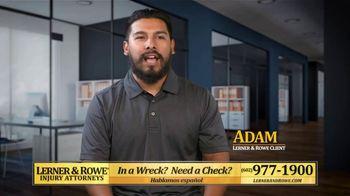 Lerner and Rowe Injury Attorneys TV Spot, 'Adam'