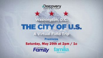 Discovery Education TV Spot, 'Washington, DC Virtual Field Trip' Ft. Dr. Jill Biden - Thumbnail 8