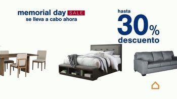 Ashley HomeStore Memorial Day Sale TV Spot, 'Hasta 30% de descuento' [Spanish] - Thumbnail 4