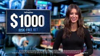 TwinSpires TV Spot, 'New Players: $1,000 Risk-Free Bet'