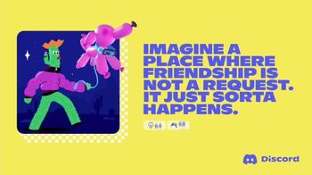 Discord TV Spot, 'Imagine a Place: Friendship' - Thumbnail 1