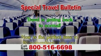 Special Travel Bulletin TV Spot, 'Back to Normal: Save Up to 75%' - Thumbnail 1