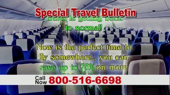 Special Travel Bulletin TV Spot, 'Back to Normal: Save Up to 75%' - Thumbnail 2
