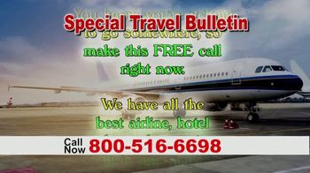 Special Travel Bulletin TV Spot, 'Back to Normal: Save Up to 75%' - Thumbnail 5