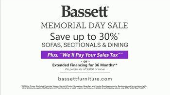 Bassett Memorial Day Sale TV Spot, 'Not an Ordinary Table: 30%' - Thumbnail 10