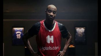 Hotels.com TV Spot, 'NBA: Changing Plans' Featuring Vince Carter