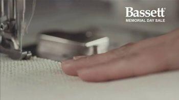 Bassett Memorial Day Sale TV Spot, 'Just a Sofa: Save 30%: Sales Tax' - Thumbnail 2