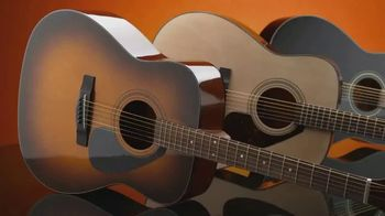 Guitar Center Memorial Day Event TV Spot, '$30 Off Yamaha F335 Acoustic, $40 Off Squier'