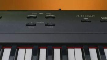 Guitar Center Memorial Day Event TV Spot, 'Up to 25% Off Williams Digital Pianos' - Thumbnail 1