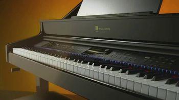 Guitar Center Memorial Day Event TV Spot, 'Up to 25% Off Williams Digital Pianos' - Thumbnail 4