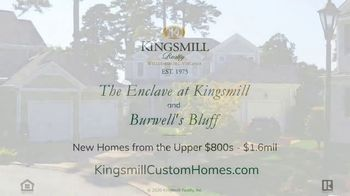 Kingsmill Realty TV Spot, 'Burwell's Bluff and The Enclave at Kingsmill Homes' - Thumbnail 10