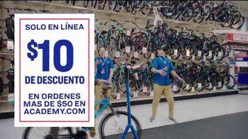 Academy Sports + Outdoors TV Spot, '$10 dólares de descuento' [Spanish]