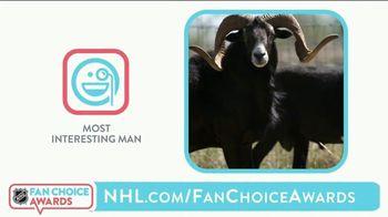 The National Hockey League TV Spot, '2021 NHL Fan Choice Awards'