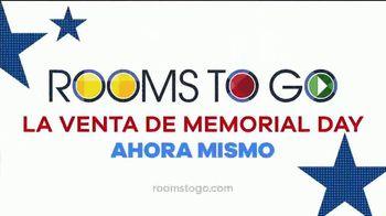 Rooms to Go Venta de Memorial Day TV Spot, 'Mesa de cuatro sillas' [Spanish] - Thumbnail 6