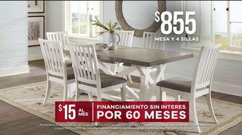 Rooms to Go Venta de Memorial Day TV Spot, 'Mesa de cuatro sillas' [Spanish] - Thumbnail 4