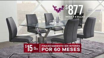 Rooms to Go Venta de Memorial Day TV Spot, 'Mesa de cuatro sillas' [Spanish] - Thumbnail 5