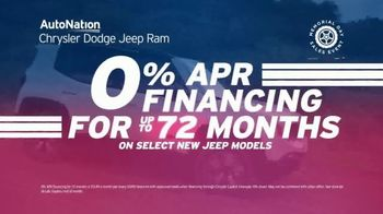 AutoNation  Fast Start Sales EventTV Spot, '0% Financing: Memorial Day' Featuring Alexander Rossi - Thumbnail 7