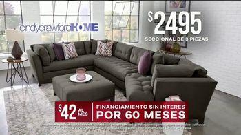 Rooms to Go Venta de Memorial Day TV Spot, 'Cindy Crawford Home' [Spanish] - Thumbnail 7