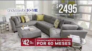 Rooms to Go Venta de Memorial Day TV Spot, 'Cindy Crawford Home' [Spanish] - Thumbnail 8