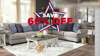 Ashley HomeStore Biggest Memorial Day Sale Event TV Spot, '60% Off and Free Delivery' - Thumbnail 2
