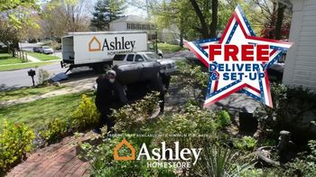 Ashley HomeStore Biggest Memorial Day Sale Event TV Spot, '60% Off and Free Delivery' - Thumbnail 3