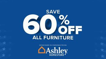 Ashley HomeStore Biggest Memorial Day Sale Event TV Spot, '60% Off and Free Delivery' - Thumbnail 7