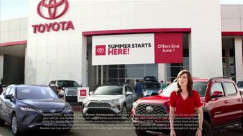 Toyota Summer Starts Here TV Spot, 'Sports' [T2] - Thumbnail 2