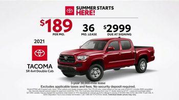 Toyota Summer Starts Here TV Spot, 'Sports' [T2] - Thumbnail 5