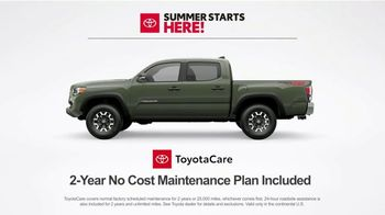 Toyota Summer Starts Here TV Spot, 'Sports' [T2] - Thumbnail 6