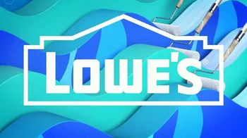Lowe's TV Spot, 'Memorial Day: $10 Off Paint and Stain' - Thumbnail 1
