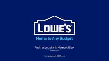 Lowe's TV Spot, 'Memorial Day: $10 Off Paint and Stain' - Thumbnail 10