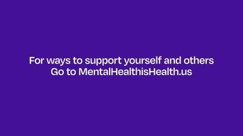 Mental Health Is Health TV Spot, 'Lend a Hand' Song by Jeanne Rogers - Thumbnail 9