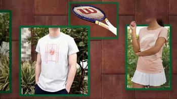 Tennis Warehouse TV Spot, 'Official Roland Garros Merchandise'